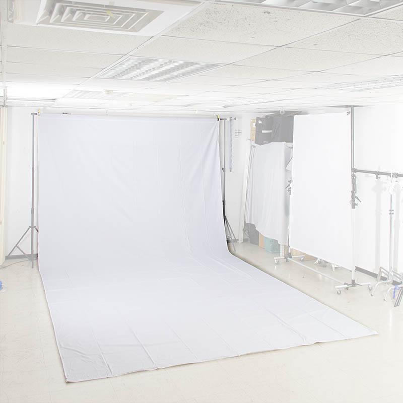 KEYSTONE 3*6m 加厚背景布(白色)
