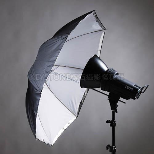 Keystone 84cm 透白兩用傘(S-37)