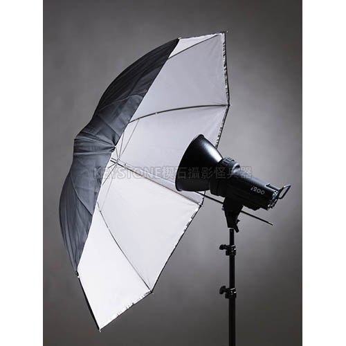 Keystone 109cm 透白兩用傘(S-37)