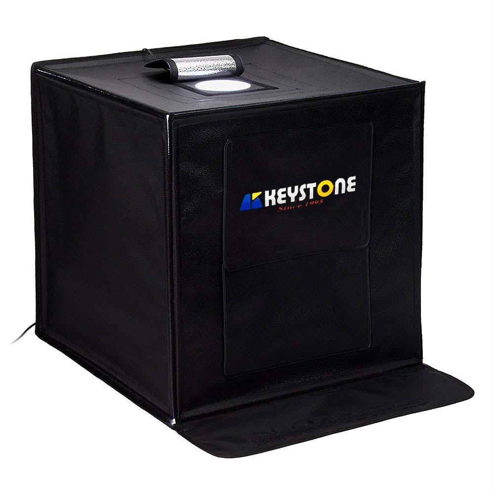 KEYSTONE  60cm 立方 LED摺疊攝影箱