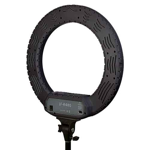Keystone 100w 超柔雙色溫主播環燈組(黑)