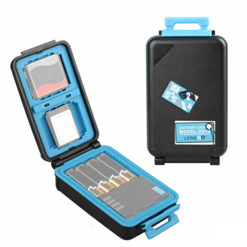 LENSGO 雙電池記憶卡保護盒(手提箱型)