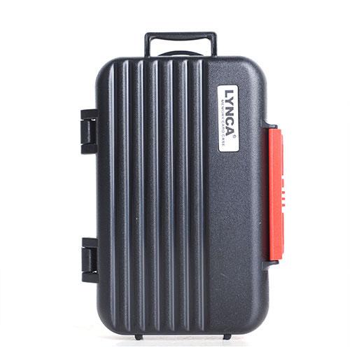 LYNCA 記憶卡保護盒(拉桿箱型) (黑)