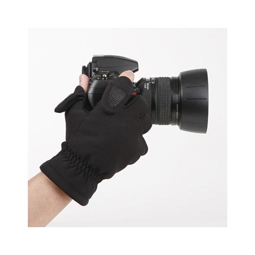 MATIN FINGER防寒手套XL-黑色