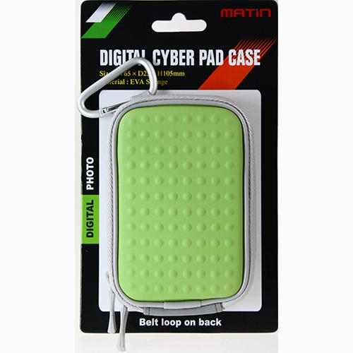 MATIN CYBER PAD 硬殼數位相機包 (亮綠)