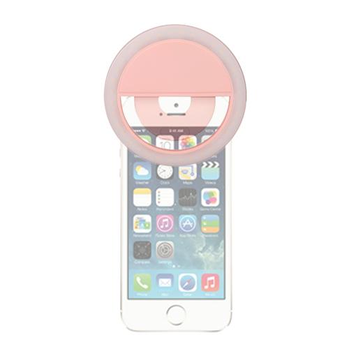 Mettle LED美膚手機環燈(粉紅)