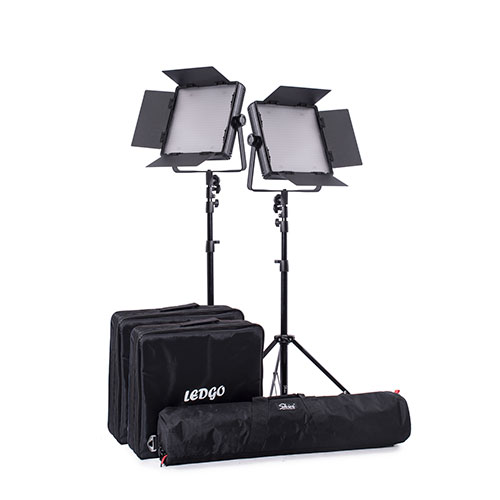 LEDGO 600 訪談錄影可變色溫燈組