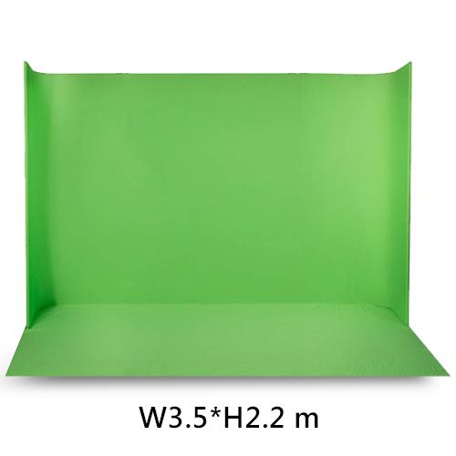 Ledgo LG-3522 U型可攜式綠幕(W3.5*H2.2米)