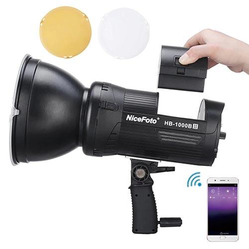 NiceFoto HB-1000BII 外拍LED燈