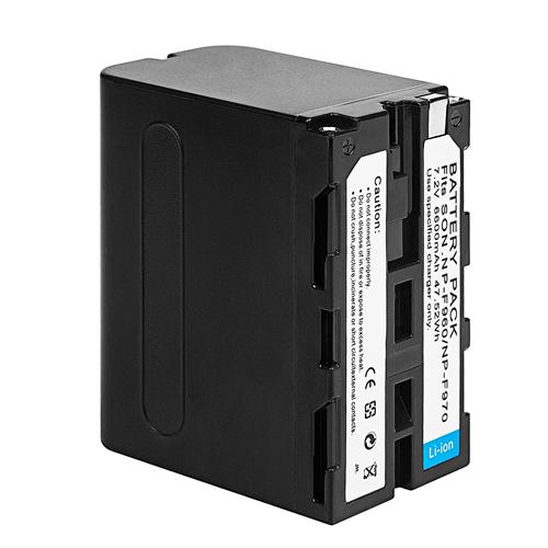 NICE NP-F970電池 7.4V/6600mah
