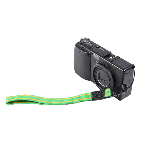 Arnuvo腕帶 for lomo相機(綠/黃)