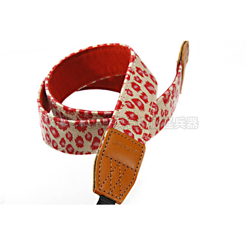 Arnuvo 豹紋背帶 (紅)