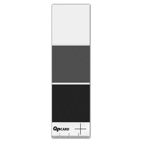 QPcard 101 三色灰卡x 1