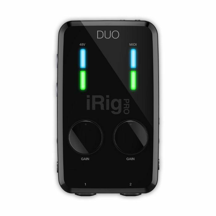 iRig PRO DUO 行動錄音界面
