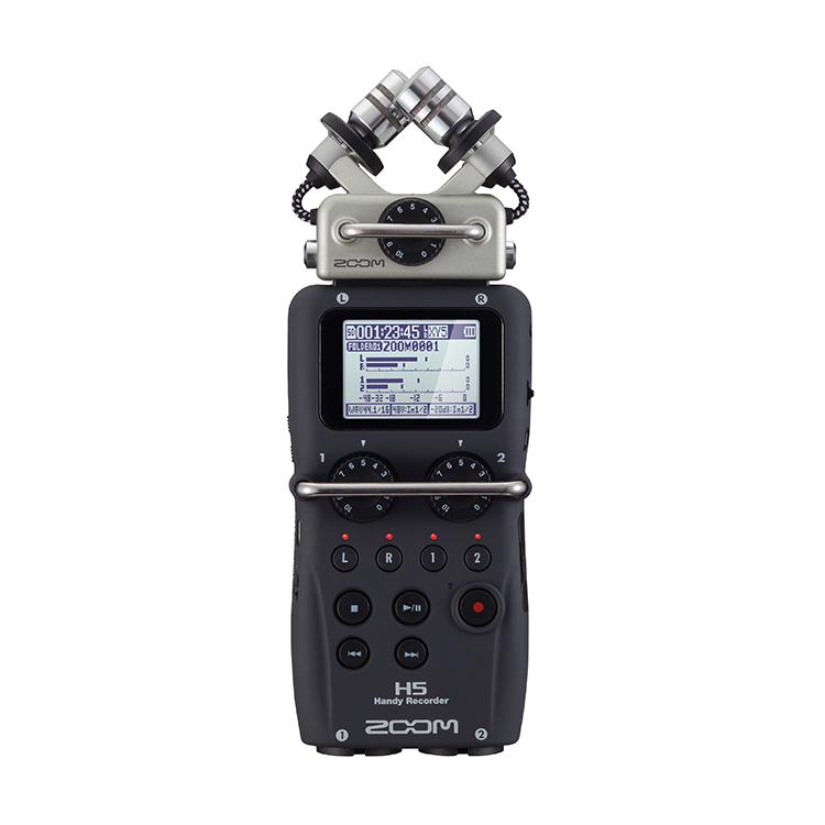 Zoom H5 可換麥克風手持數位錄音機