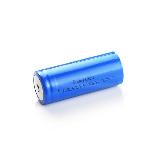 倍量26650鋰電池3.7V 5000 mah(凸點)