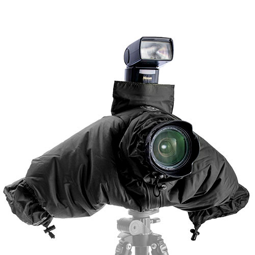 KEYSTONE 相機防寒減音套-黑