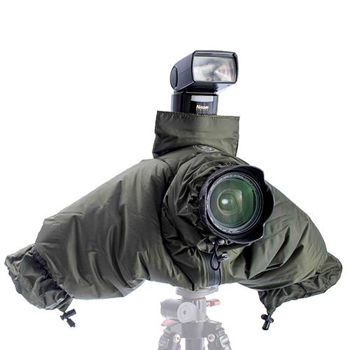 KEYSTONE 相機防寒減音套-綠