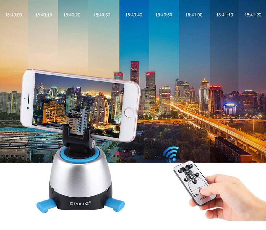PULUZ 360 手機自動全景/環物雙用雲台組