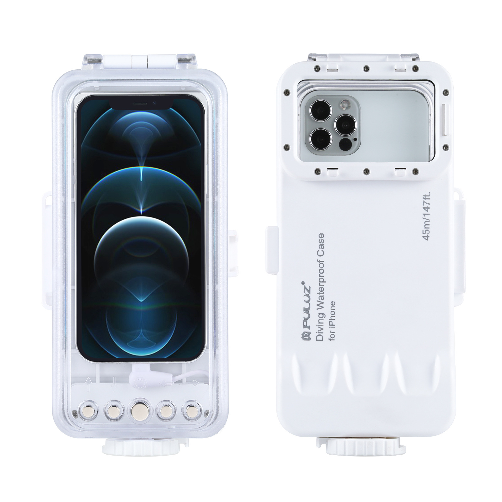 Puluz 45米手機潛水殼 for iPhone(升級)