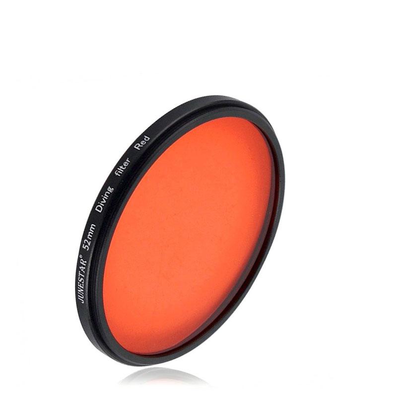 JSR 52mm 紅色潛水濾鏡