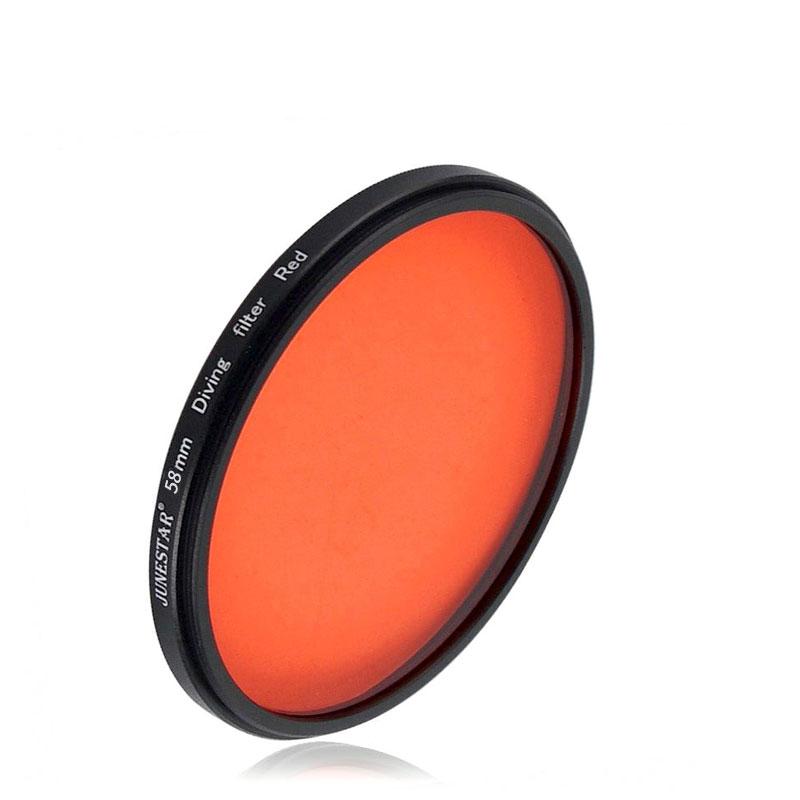 JSR 58mm 紅色潛水濾鏡