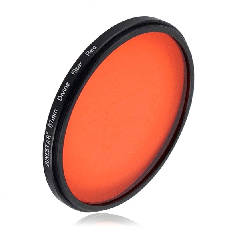 JSR 67mm 紅色潛水濾鏡