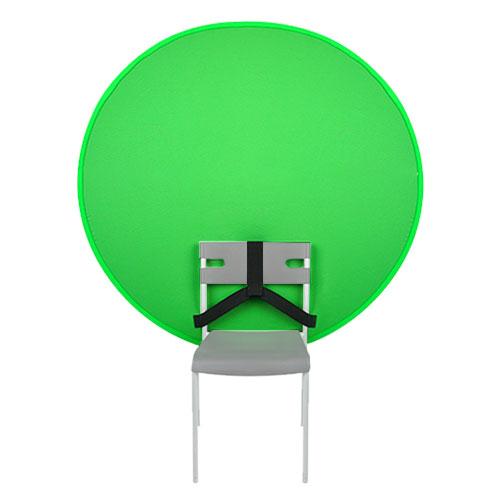 Selens 130cm圓形椅背綠幕Key板