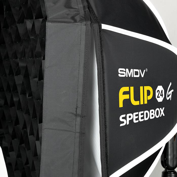SM FLIP 24G 秒收蜂巢八角柔光罩(S接環)