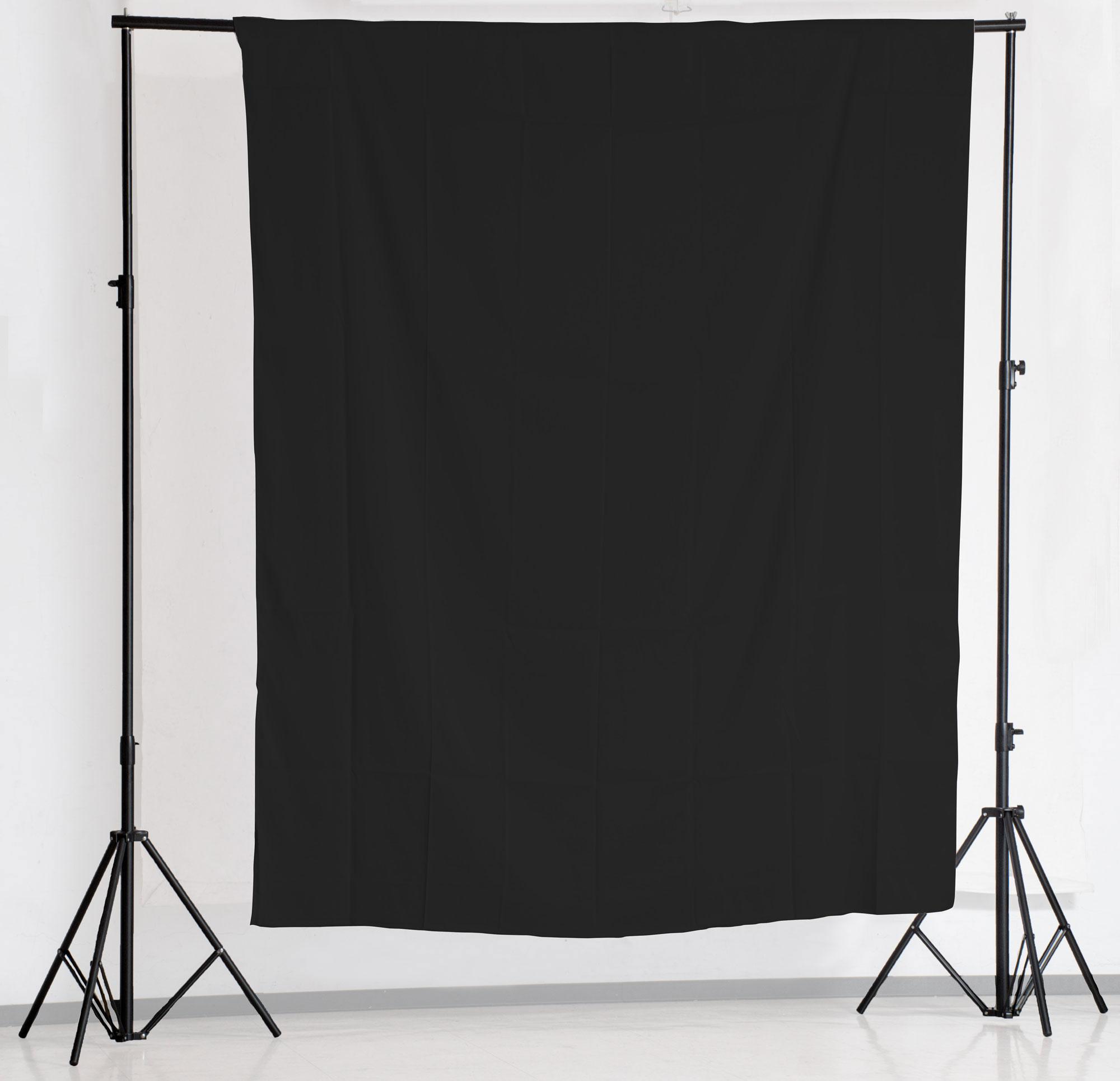 KEYSTONE 2*3m 背景布(黑色)