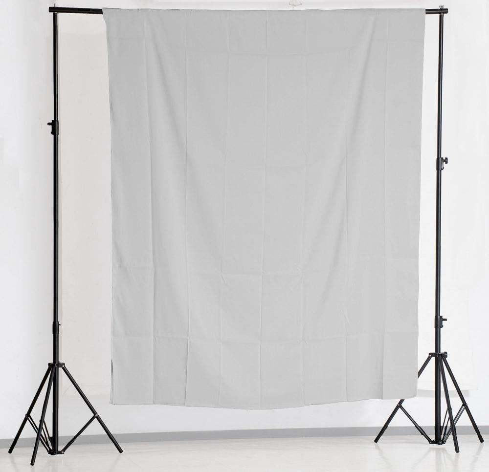 KEYSTONE 3*2m 加厚背景棉布(灰色)