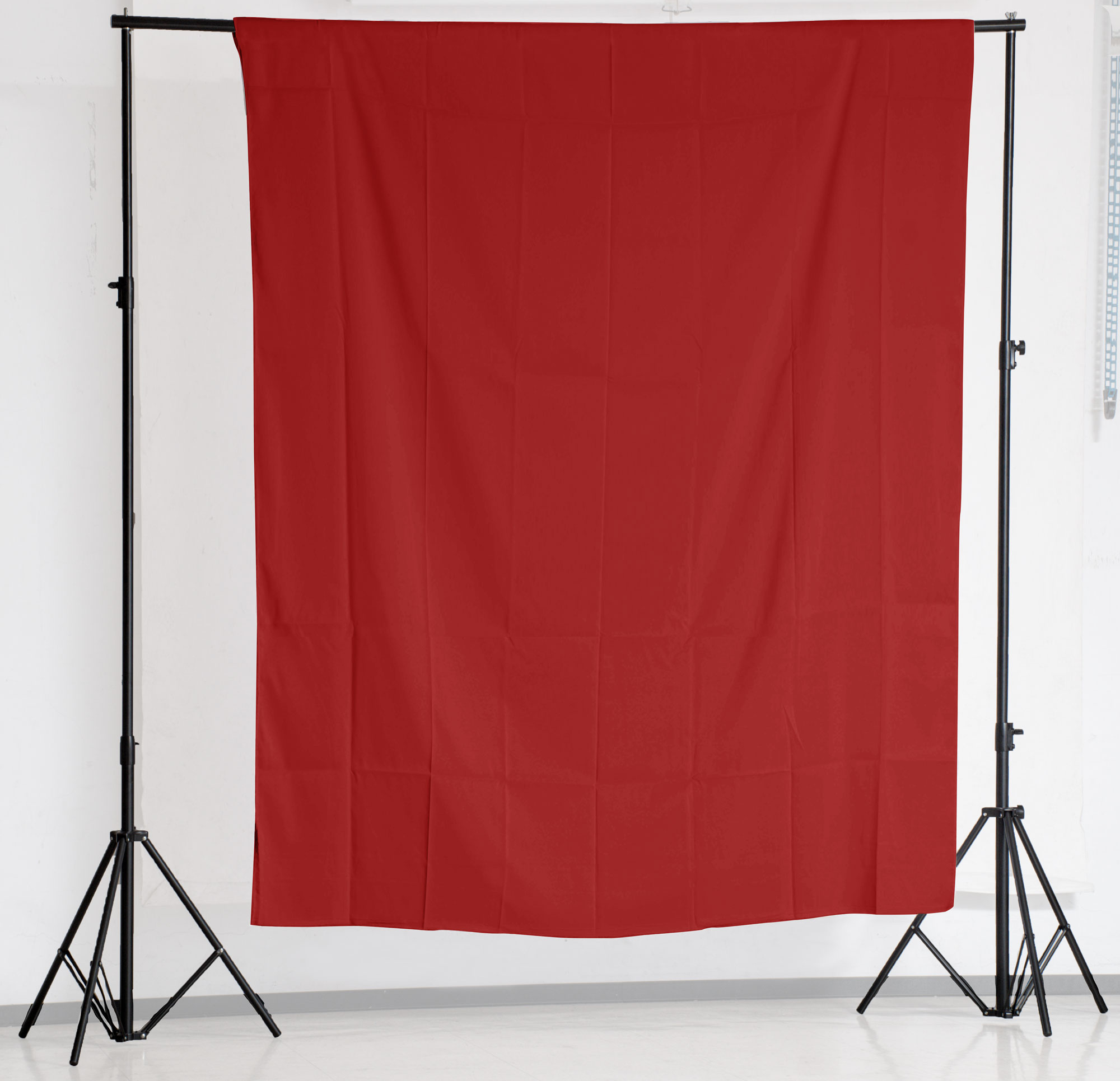 KEYSTONE 2*3m 背景棉布(紅色)