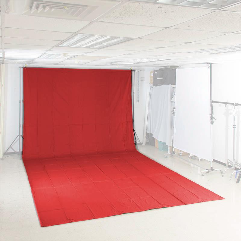 KEYSTONE 3*6m 加厚背景布(紅色)
