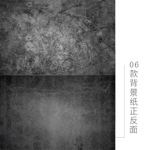 KEYSTONE 雙面低反光仿真背景紙-06黑裂牆紋