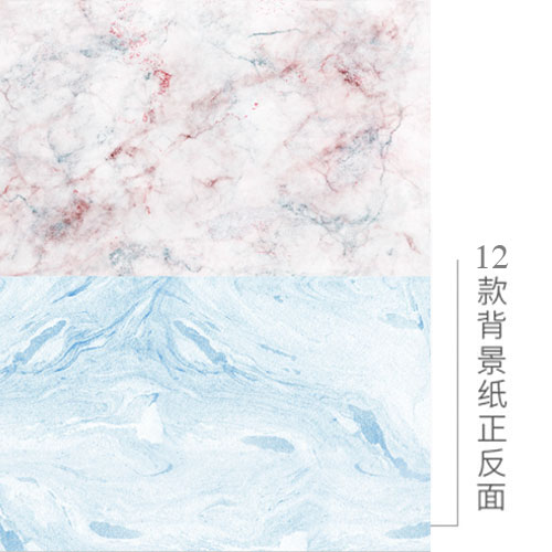 KEYSTONE 雙面低反光仿真背景紙-12彩石紋