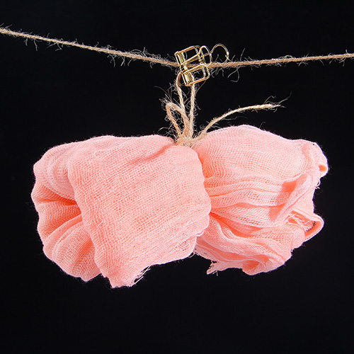 KEYSTONE 拍攝道具 復古棉紗巾60*90cm(粉紅)