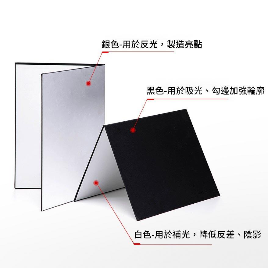 KEYSTONE 商攝折疊補光吸光板-A3