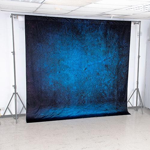 KEYSTONE 絨面背景布-藍染250*250CM
