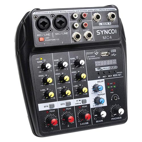 Synco MC04 小型混音器