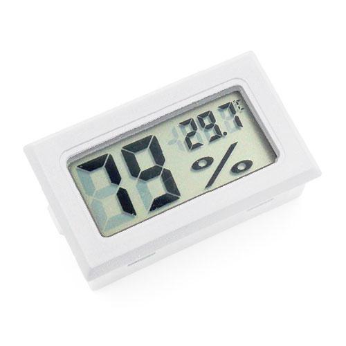嵌入式數位溫濕度計(白色)