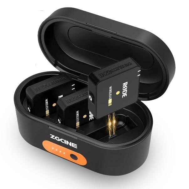 Zgcine ZG-R30 充電保護盒for Rode Wireless Go