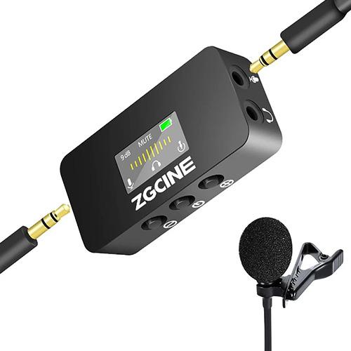 Zgcine LM1可監聽領夾麥克風