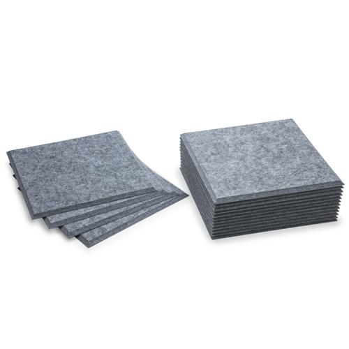 KEYSTONE 聲學纖維吸音板 30X30cm16片裝-銀灰