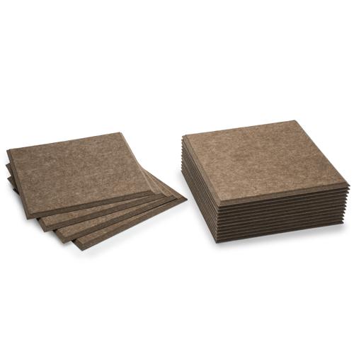KEYSTONE 聲學纖維吸音板 30X30cm16片裝-咖啡