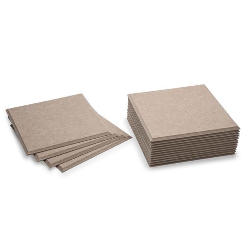 KEYSTONE 聲學纖維吸音板 30X30cm16片裝-深駝