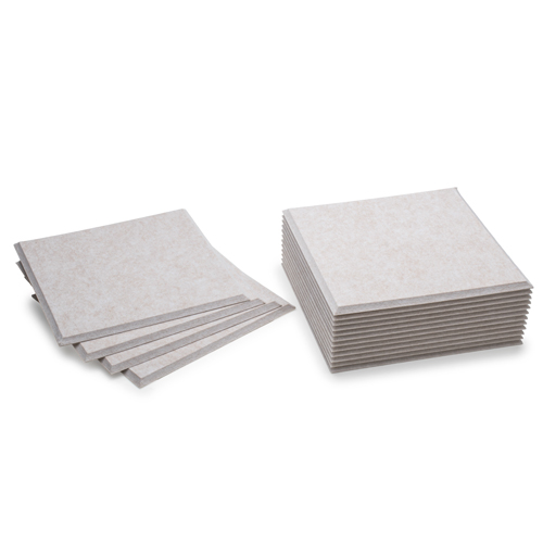 KEYSTONE 聲學纖維吸音板 30X30cm16片裝-淺駝