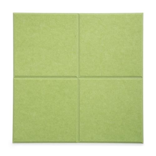 KEYSTONE 聲學纖維吸音板 30X30cm16片裝-果綠