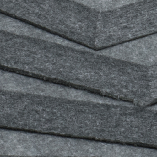 KEYSTONE 六角形聲學纖維吸音板20片裝-月光灰