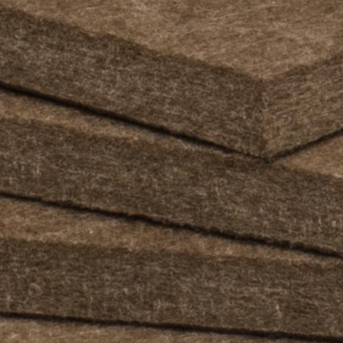 KEYSTONE 六角形聲學纖維吸音板20片裝-咖啡