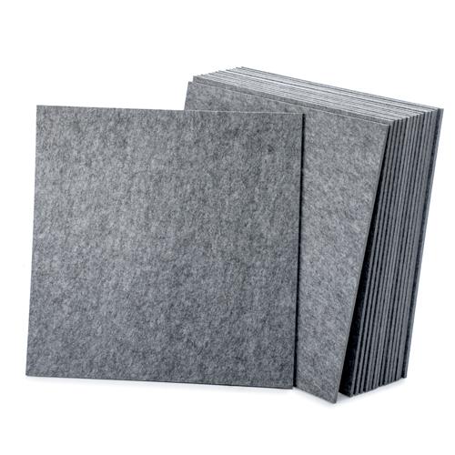 KEYSTONE 聲學纖維吸音板 60X60cm16片裝-銀灰